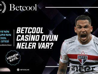 Betcool Casino Oyun Kategorilerinde Neler Var