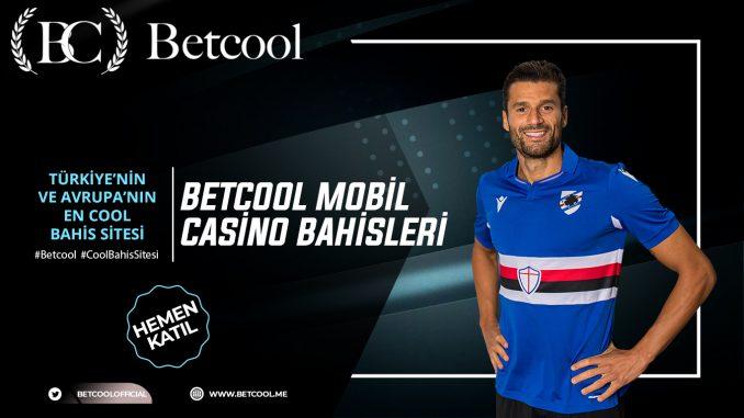 Betcool Mobil Casino Bahisleri