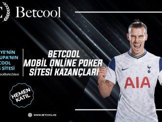Betcool Mobil Online Poker Sitesi Kazançları
